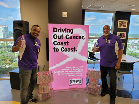 Keen Water Teams Up with AutoNation for their October Drive Pink Campaign