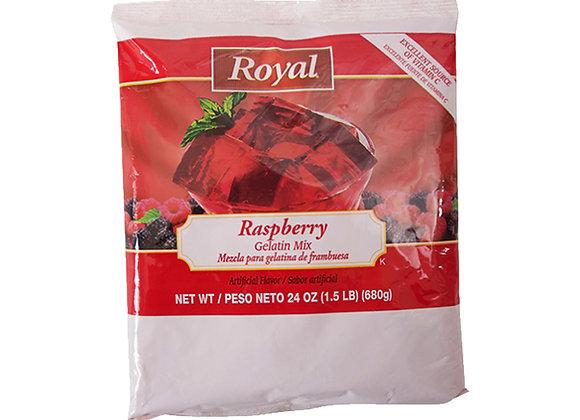 Raspberry Gelatin