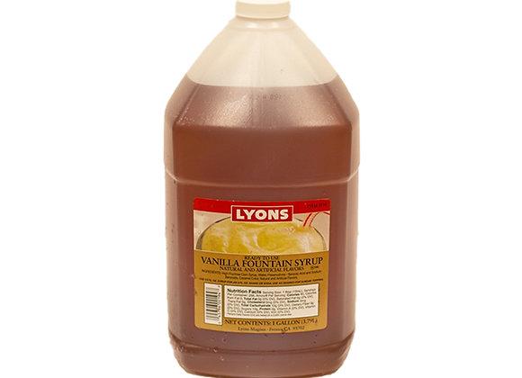 Vanilla Soda Syrup