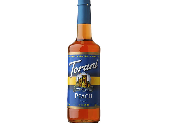 Peach Torani (Sugar Free)