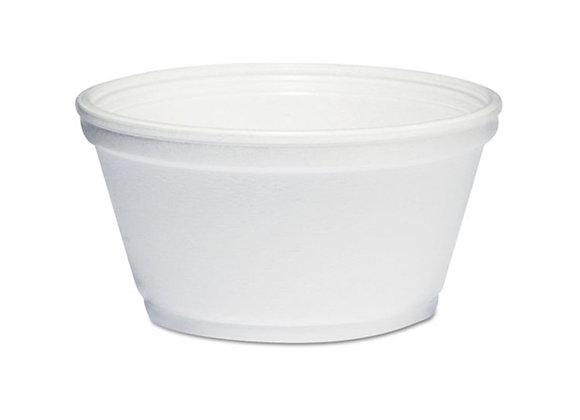 8oz Foam Container - (50 Count)