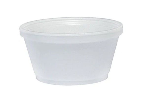 12oz Foam Container - (25 Count)