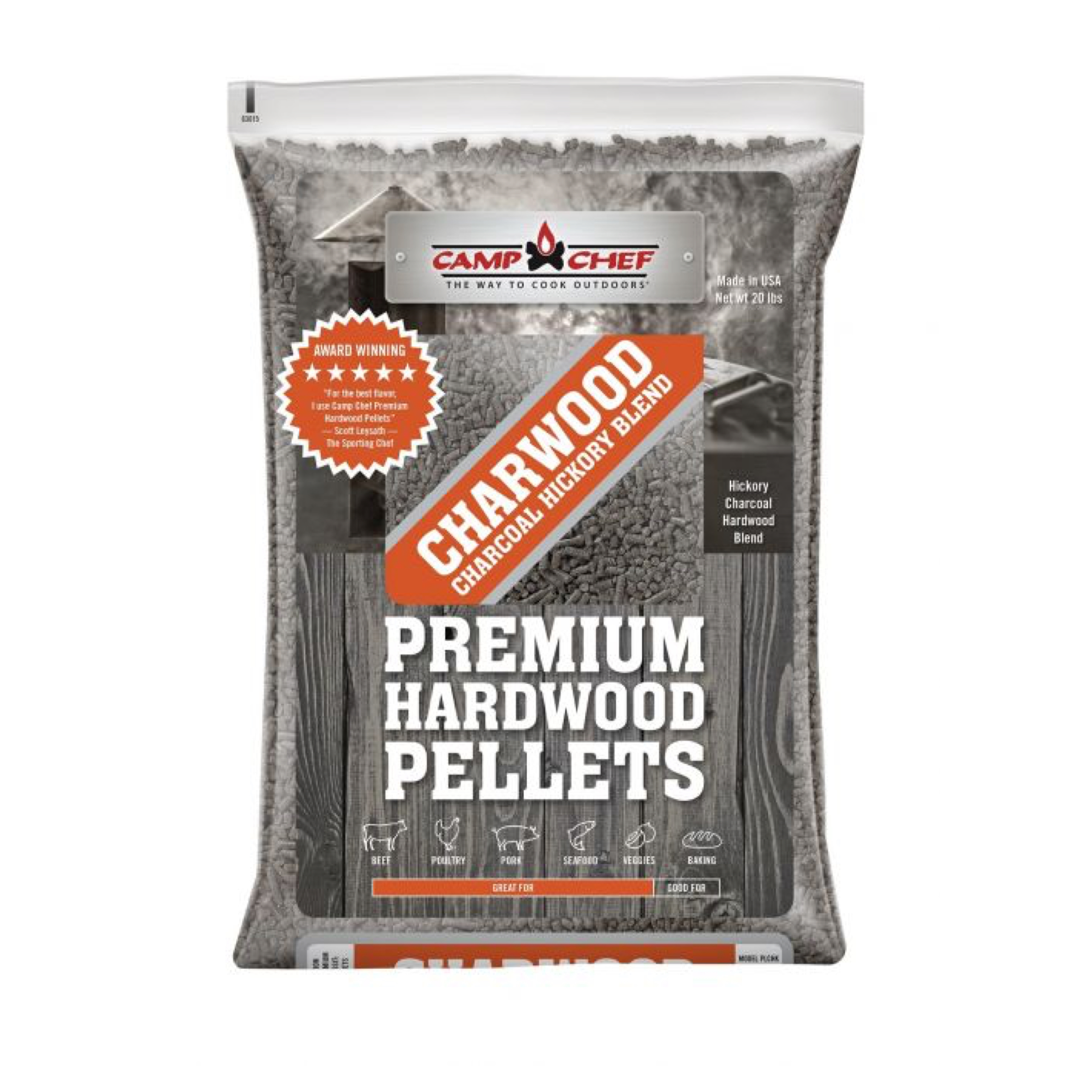Charwood Hickory Pellets