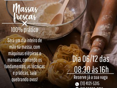 CURSO DE MASSAS - 06/12