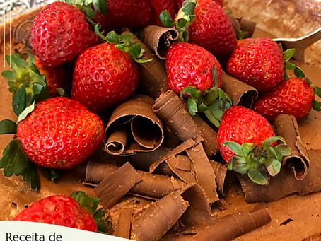 Mousse fácil e especial de chocolate