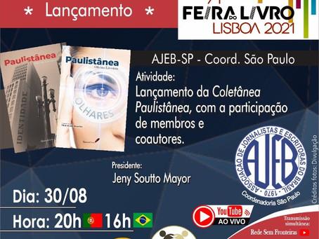Registro de lives - Feira do Livro Lisboa 2021