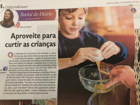 Sabor & Saber Gastronomia nas mídias!