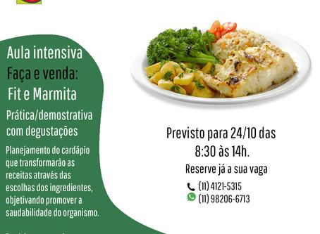 AULA DE COZINHA FIT E MARMITA - 24/10