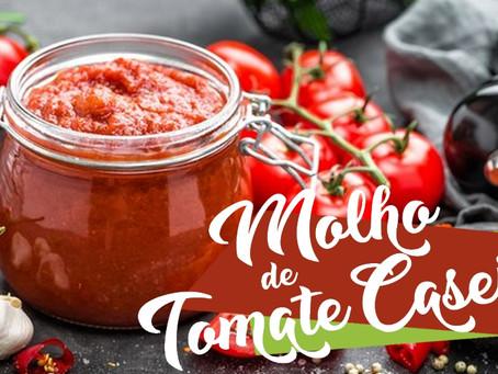 Coronavírus: Congele Molho de Tomate Caseiro