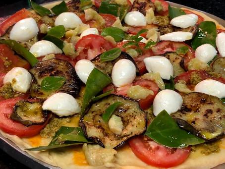 Pizza de Ora-Pro-Nóbis com Cambuci