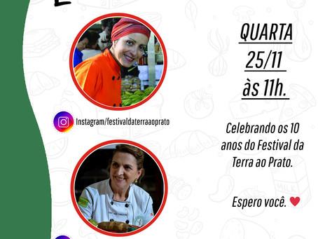 LIVE 25/11 - Festival da Terra ao Prato