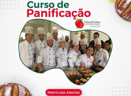 CURSO DE PANIFICAÇÃO NA PRATICA