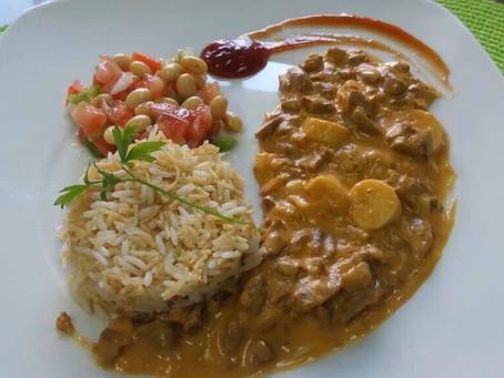 Strogonoff de Soja (Vegetariano)