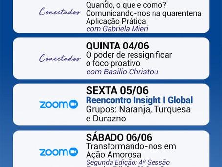 SEMINARIOS INSIGHT - CONECTADOS ABRAÇOS VIRTUAIS