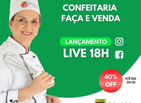 LIVE 05/10 - CURSO ONLINE CONFEITARIA: FAÇA E VENDA