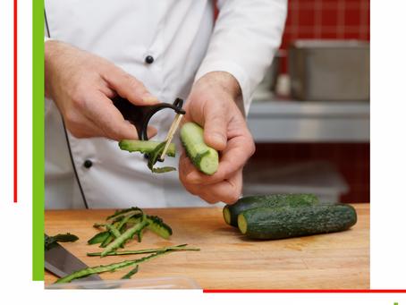 Dica: Descascador de legumes