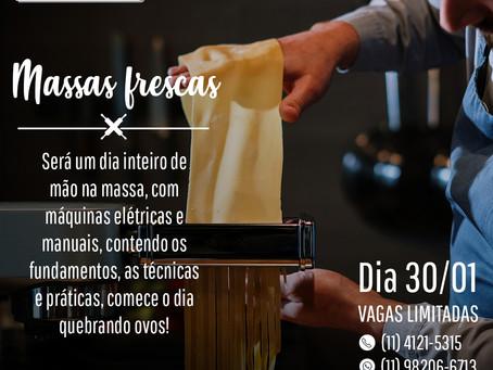 MASSAS FRESCAS - Curso