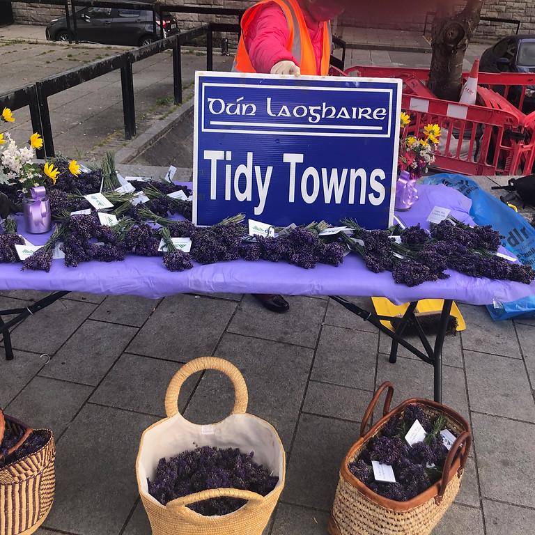 Free lavender bouquet distribution