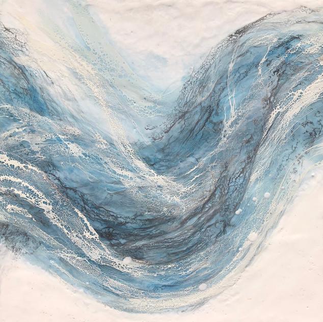 Brilliant Blue Waves