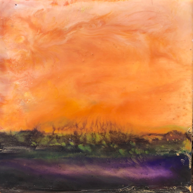 SOLD-Pockets of Peace, Sunset