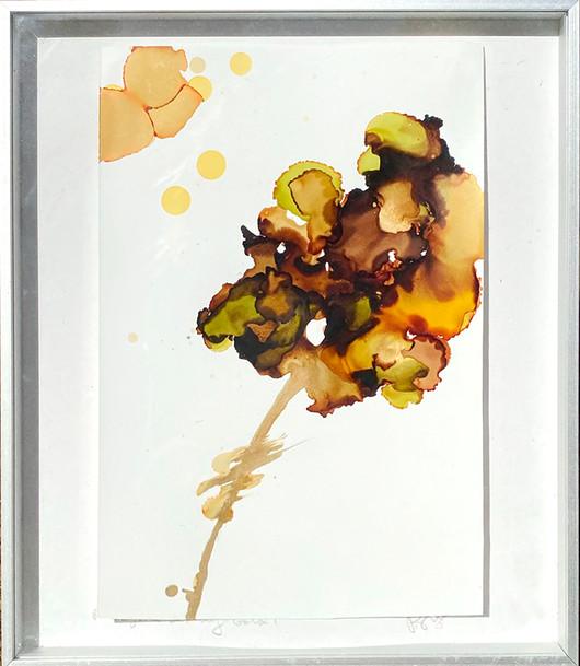 Japanese Blooms II - framed