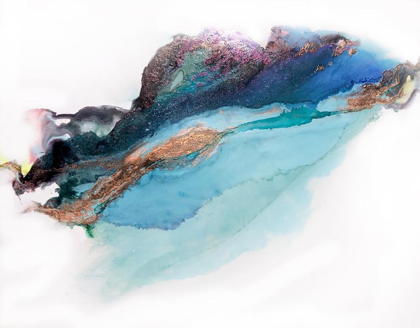 """Big Dreams 13 - Cool Copper -11x14"""""""