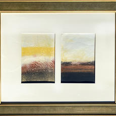Present Peace-Copper Diptych