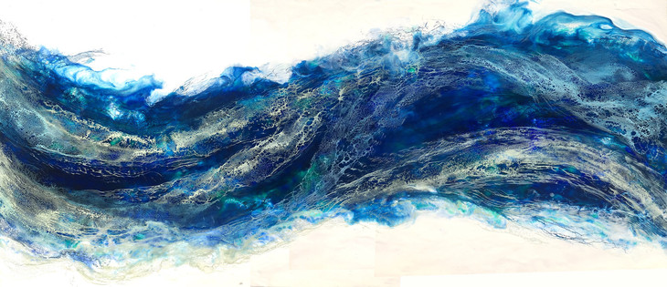 Between the Sea III - 72x34""
