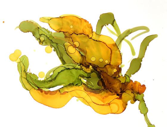 Golden Blooms III