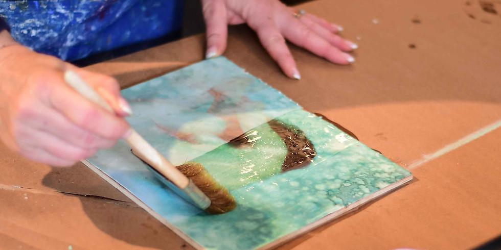 Photo-Encaustic Painting: Nov 23. Beginner to Intermediate.