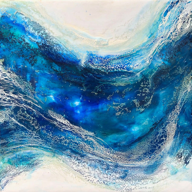 Waves of Blue V