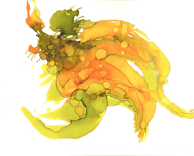 Golden Blooms IV