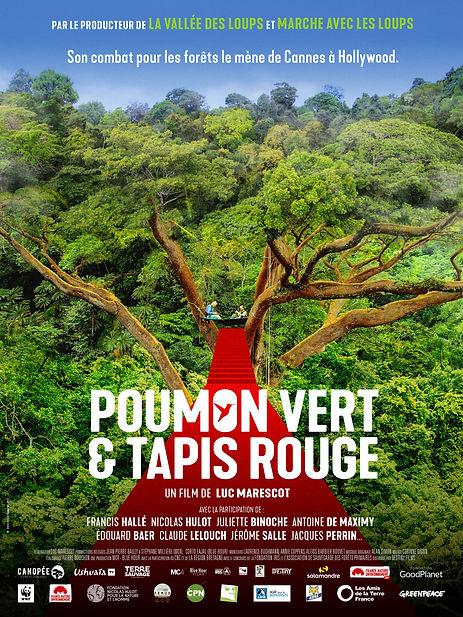 Affiche Poumon vert et tapis rouge