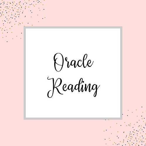 Intuitive Oracle Reading (30 min)