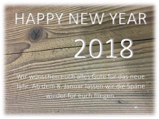 Alles gute für das neue Jahr