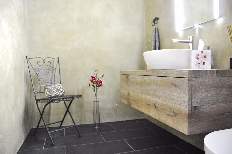 Badezimmermöbel in Eiche Altholz