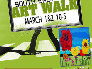Next weekend  1&2 March   Lane Gallery & Studio