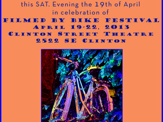 This Sat. evening, the 19th of April, LANE GALLERY & STUDIO will be open LATE to celebrate the Filme