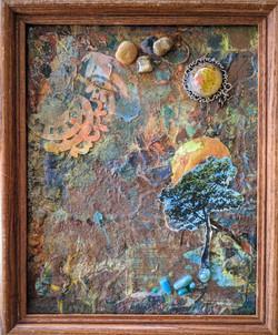 The Pinnacle framed