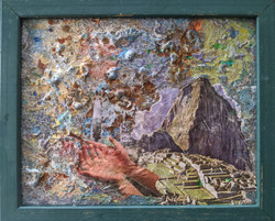 Macchu Picchu-framed