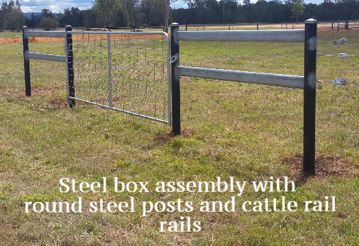 Steel box assembly
