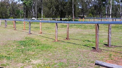 Horse fence | Cattle rail and split posts