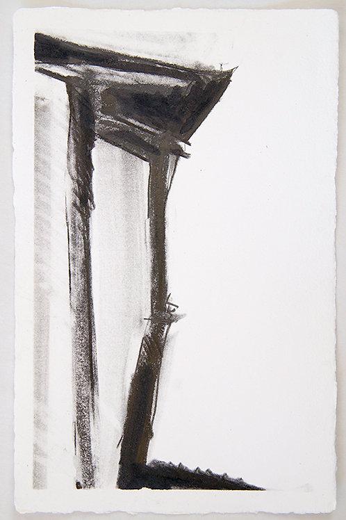 Noyers Residency Drawing 081504