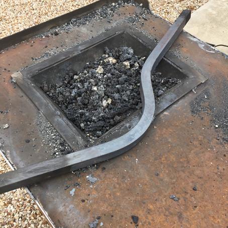 A coal forge