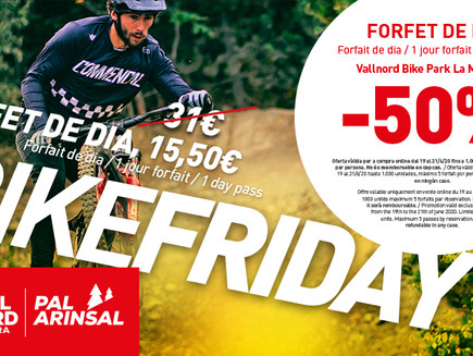 Offre BIKE FRIDAY Vallnord Bikepark