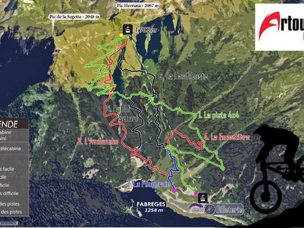 📍Carte des spots: Vallée d'Ossau