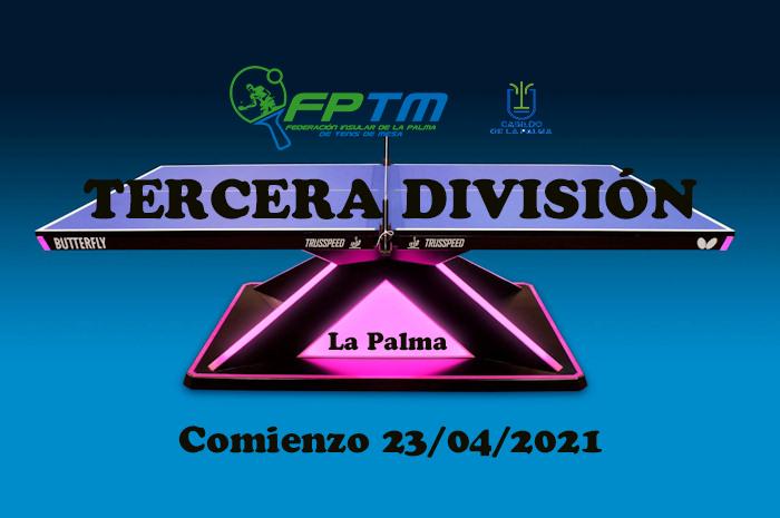 TERCERA DIVISIÓN LA PALMA