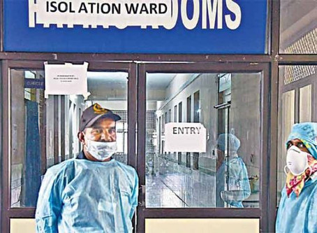 COVID-19 explodes among doctors in Hyderabad