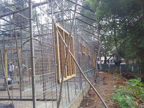 ferrocement quick plastering house model
