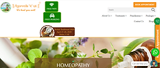hospital web site design in kannur